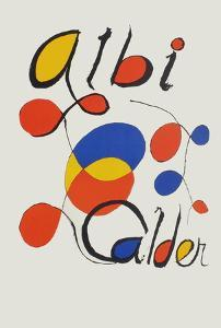 Albi Calder by Alexander Calder