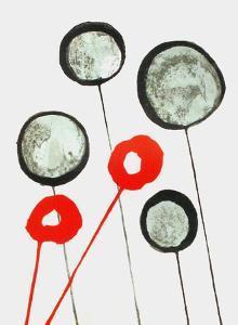 Derrier le Mirroir, no. 156: Ballons by Alexander Calder