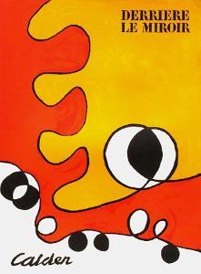 Derrier le Mirroir, no. 173: Composition I by Alexander Calder