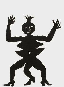 Derrier le Mirroir, no. 212: Critter III by Alexander Calder