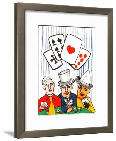 Derrier le Mirroir, no. 212: Joueurs De Cartes I