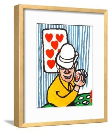 Derrier le Mirroir, no. 212: Joueurs De Cartes II