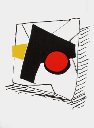 Derrier le Mirroir, no. 221: Composition Géométrique