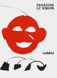 Derrier le Mirroir, no. 221: Couverture by Alexander Calder