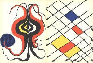 Derriere le Miroir No. 156 by Alexander Calder