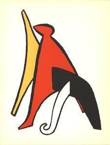 DLM No. 141 Page 10 by Alexander Calder