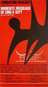 Expo 74 - Fondation Maeght by Alexander Calder