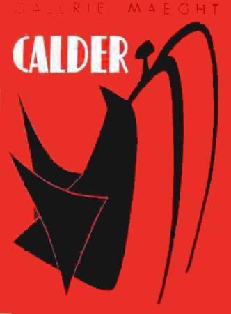 Galerie Maeght, 1959 by Alexander Calder