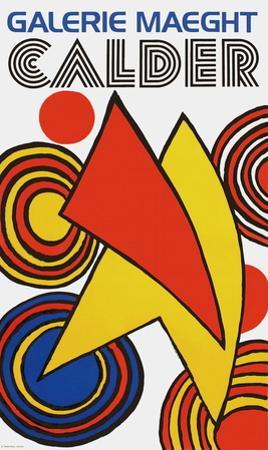 Galerie Maeght, 1973 by Alexander Calder