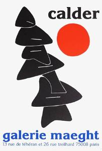 Galerie Maeght, 1976 by Alexander Calder