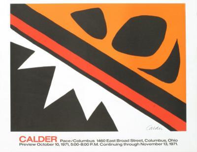 La Grenouille et la Scie (small) by Alexander Calder
