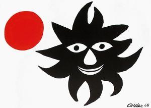 Le Soleil Et La Lune by Alexander Calder