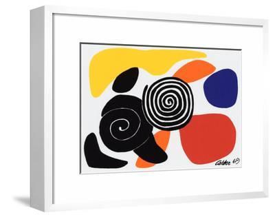 Spirals and Petals, c.1969 by Alexander Calder