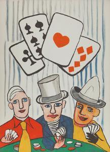 Three Card Players by Alexander Calder