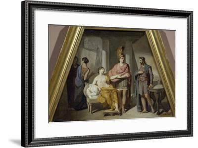 Alexander Ceding His Mistress Campaspe to Apelles-Francesco Coghetti-Framed Giclee Print