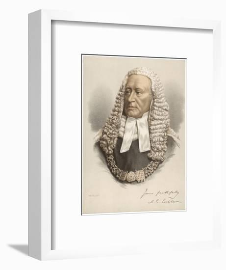 Alexander Cockburn--Framed Giclee Print