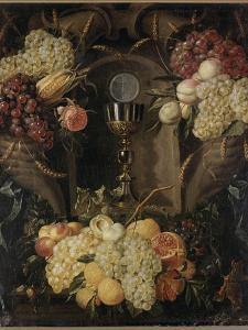 Allégorie de l'Eucharistie by Alexander Coosemans