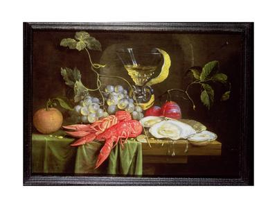 Still Life with Lobster, Oysters and Fruit