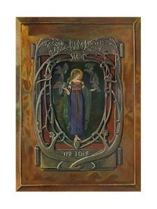 'Enamel Plaque by Alexander Fisher', c1898 by Alexander Fisher