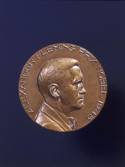 Alexander Fleming Prix Nobel 1945--Photographic Print