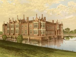 Helmingham Hall by Alexander Francis Lydon