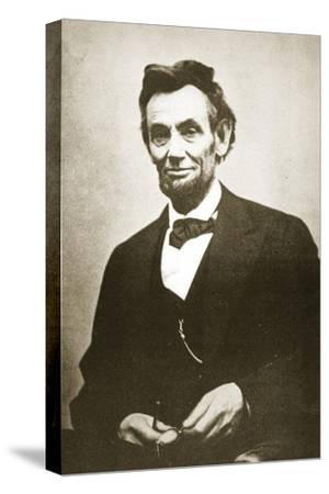 Abraham Lincoln, 1865