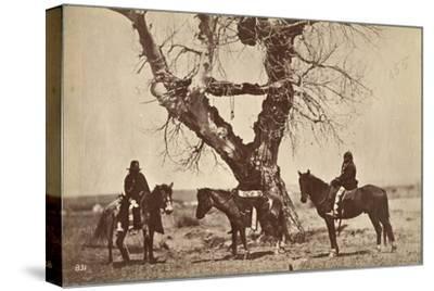 Burial, Dakota, 1868