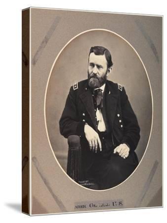 Platinum Rice Print of Ulysses S. Grant, 1865, Printed 1901