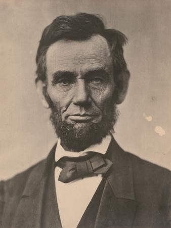 Portrait of Abraham Lincoln, November 1863, Printed c.1910