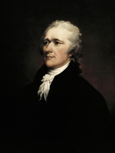 Alexander Hamilton-John Trumbull-Art Print
