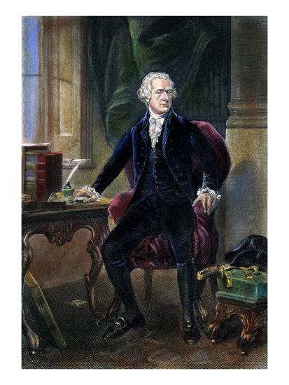 Alexander Hamilton--Giclee Print