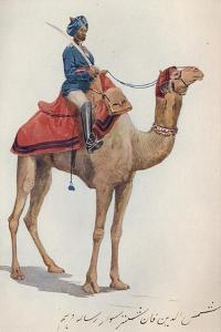 'A Camel-Sowar of the 10th Bengal Lancers', c1880 (1905) by Alexander Henry Hallam Murray
