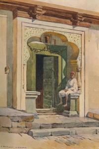 'A Doorway, Poona', c1880 (1905) by Alexander Henry Hallam Murray