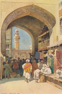 'A Gateway in the Bazaar, Lahore', c1880 (1905) by Alexander Henry Hallam Murray