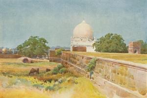 'A Nameless Tomb, Bijapur', c1880 (1905) by Alexander Henry Hallam Murray