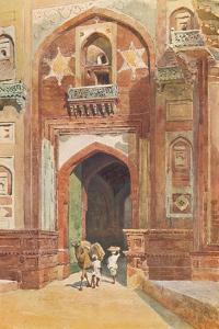 'Agra Fort - Inside the Delhi Gate', c1880 (1905) by Alexander Henry Hallam Murray