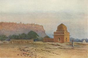 'Gwalior Fort Before Sunrise', c1880 (1905) by Alexander Henry Hallam Murray