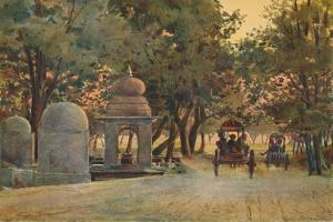 'Returning from the Mela, Allahabad', c1880 (1905) by Alexander Henry Hallam Murray
