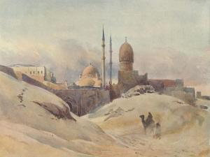 'The Citadel, Cairo, in a Sand-Storm', c1880 (1905) by Alexander Henry Hallam Murray