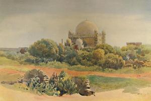 'The Gol Gumbaz, Bijapur', c1880 (1905) by Alexander Henry Hallam Murray