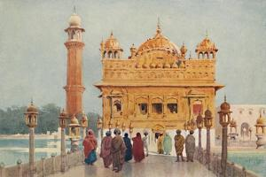 'The Golden Temple, Amritzar', c1880 (1905) by Alexander Henry Hallam Murray