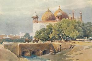 'The Jumma Musjid, Agra', c1880 (1905) by Alexander Henry Hallam Murray
