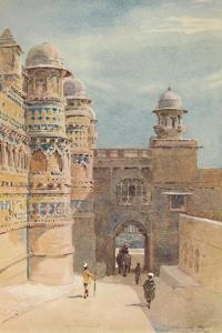 'The Man Sing Palace, Gwalior', c1880 (1905) by Alexander Henry Hallam Murray