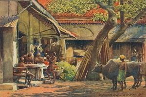'The Market, Colombo', c1880 (1905) by Alexander Henry Hallam Murray