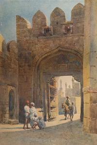 'The Shahpur Gate, Bijapur', c1880 (1905) by Alexander Henry Hallam Murray