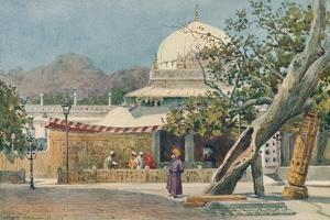 'The Tomb of Khwajah Muin-Ud-Din Chisti, in the Dargah, Ajmere', c1880 (1905) by Alexander Henry Hallam Murray