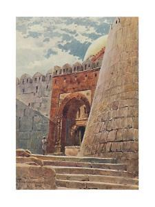 'The Tomb of Tughlak Shah', c1880 (1905) by Alexander Henry Hallam Murray