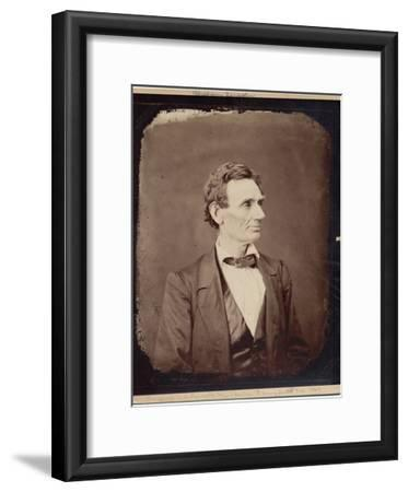 Abraham Lincoln (1809-65), 16th President of the USA, Copy Print after Photo by Alexander Hesler,…