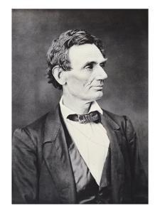 Abraham Lincoln, c.1860 by Alexander Hesler