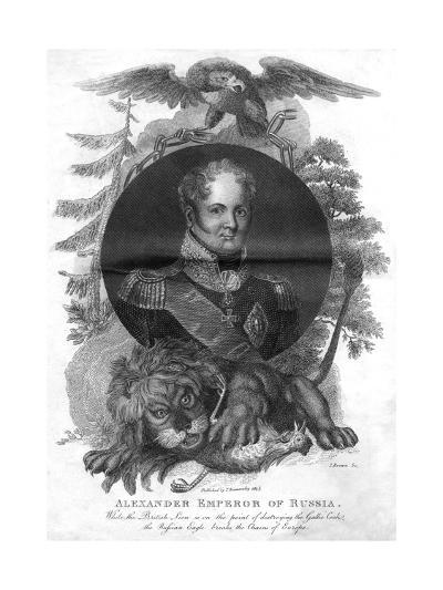 Alexander I, Emperor of Russia (1777-182), 1816-I Brown-Giclee Print
